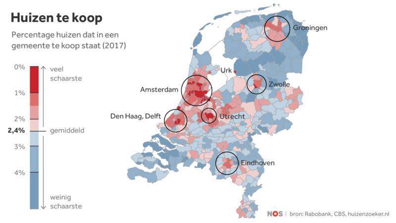 Krapte op de woningmarkt in nederland debat in de for Huizenzoeker amsterdam
