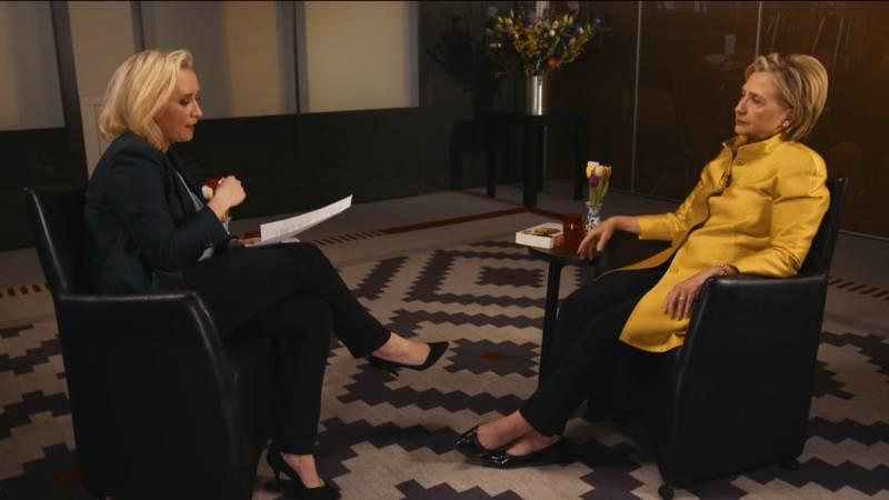 Eva Jinek interviewde Hillary Clinton: 'Deze vrouw is onverwoestbaar'