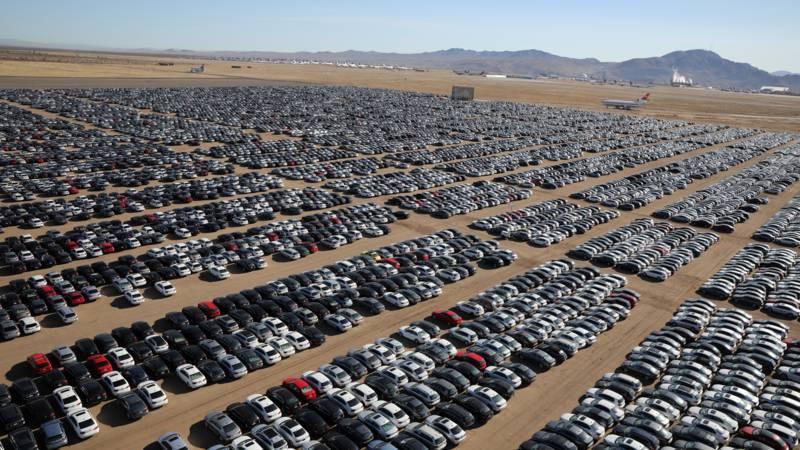 Megaparkeerplaatsen In Vs Als Gevolg Van