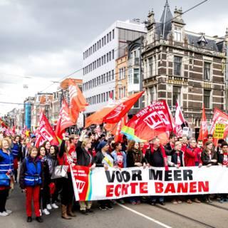 Sinds 1990 niet zo weinig vakbondsleden