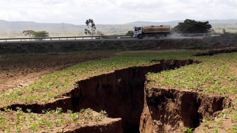 Scheuren in Kenia: breekt de Hoorn van Afrika van Afrika af?