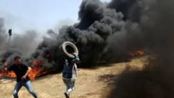 Dode bij nieuwe botsingen langs grens Gaza-Israël.