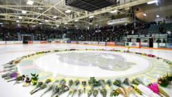 Wake voor verongelukt ijshockeyteam Canada.