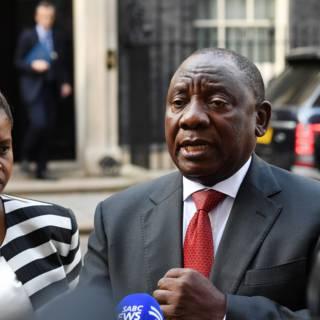 Zuid-Afrikaanse president verlaat Britse top vanwege protesten