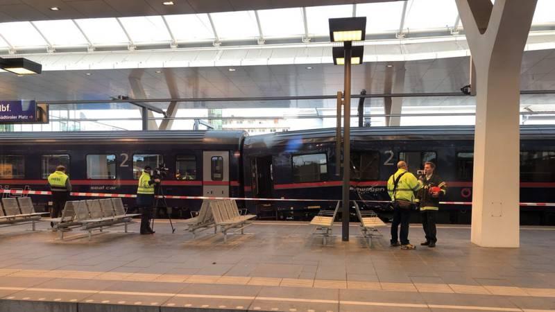 Zeker twintig gewonden bij treinongeluk in Salzburg.