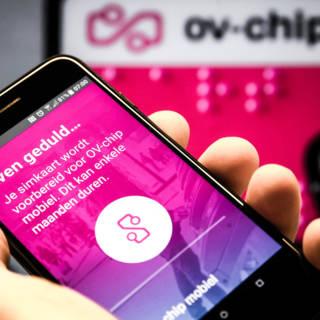 Proef met OV-chip op mobiel mislukt