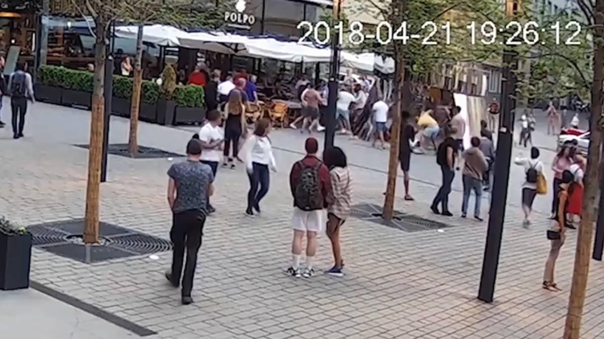 Nederlanders vast in Praag voor mishandelen ober