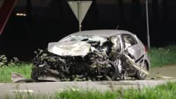 Dode en gewonden bij frontale botsing tussen twee autos in Zeeland.