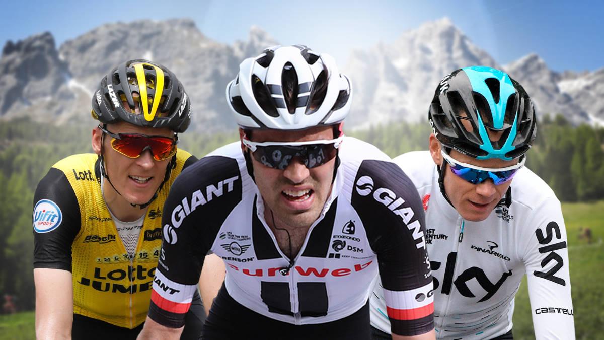 Gesink en Bouwman in kopgroep in laatste bergrit