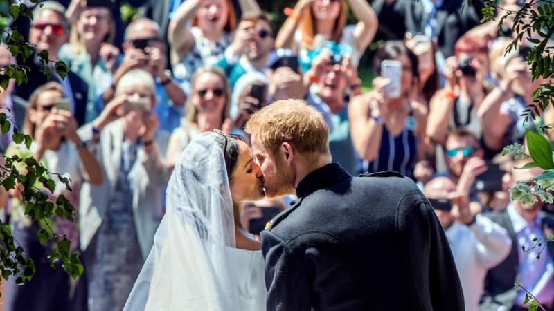 Miljoen nederlanders zagen huwelijk van harry en