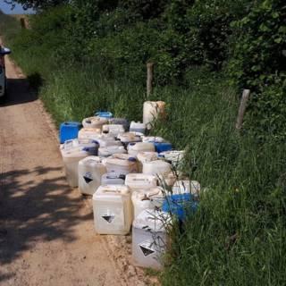 Weer grote lading drugsafval gedumpt in Zuid-Limburg
