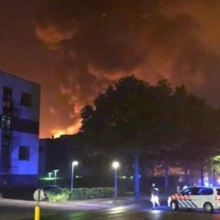 Zeer grote brand op opleidingsinstituut in Ede
