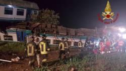 Twee doden bij botsing tussen vrachtwagen en trein Italië.