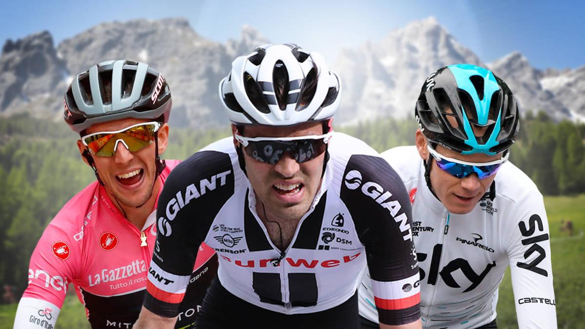 Spektakel in Giro: Froome loopt uit op groep-Dumoulin, Yates is gezien