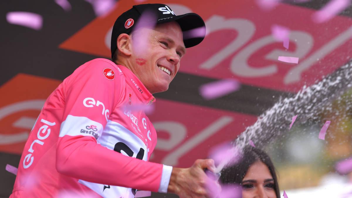 Froome zet Giro naar z'n hand, Dumoulin blijft tweede