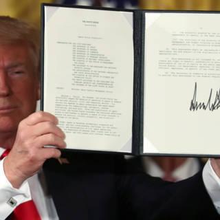 President Trump wil 'Space Force' voor buitenaardse militaire operaties
