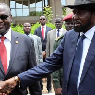 Rivalen Zuid-Sudan ontmoeten elkaar in Ethiopië