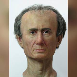 Nieuw, 'realistischer' beeld onthuld van Caesar zonder volle haardos