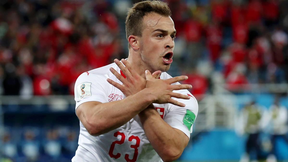 Shaqiri brengt Zwitsers in extase na ragfijne counter in slotfase