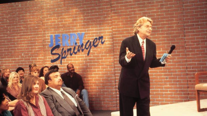 jerry springer compared to oprah winfrey The jerry springer show has filmed almost 4,000 installments—and during its heyday in the late 90s, even managed to top oprah winfrey's ratings now, though, .
