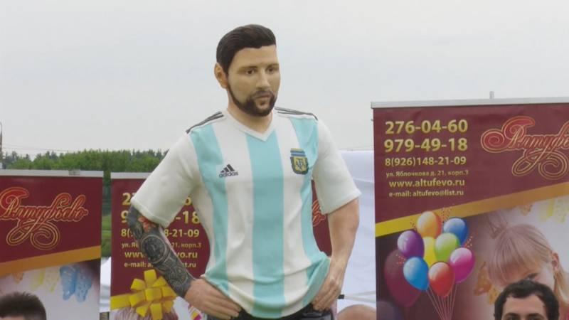 Gigantische Messi Taart Voor Messi S Verjaardag Nos Jeugdjournaal