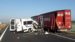 Gewonden en dode bij ongelukken A4/A58, weg richting Zeeland urenlang dicht.