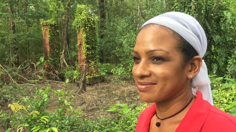Marsha 'wil slavernijverleden laten zien' op haar Surinaamse plantage