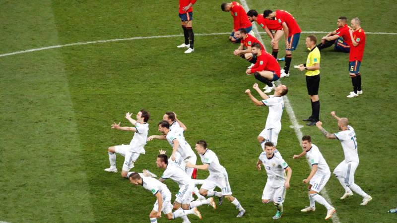 Rusland Stunt En Schakelt Spanje Uit In Penaltyreeks