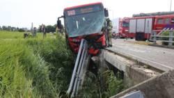 Gewonde bij ongeluk met bus in Mijdrecht.