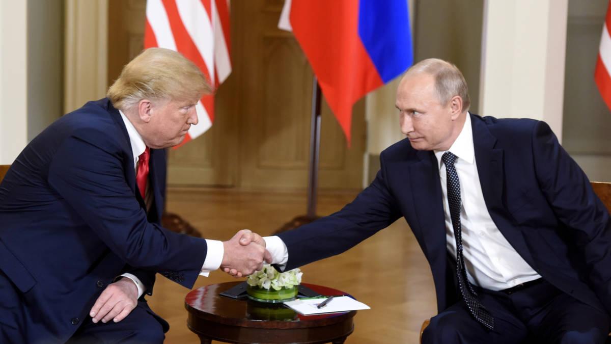 Top Trump-Poetin in Helsinki: 'Wereld wil dat we goed met elkaar omgaan'