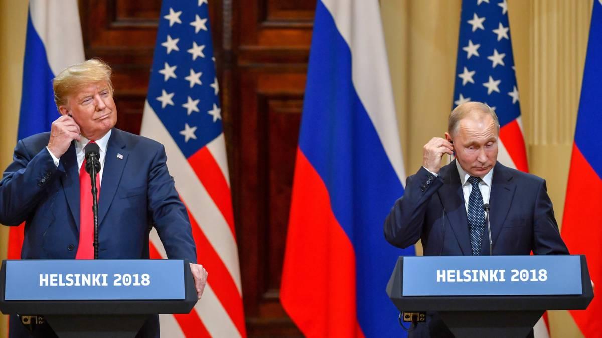 Verdediging Trump na storm van kritiek: 'Ik heb me versproken'