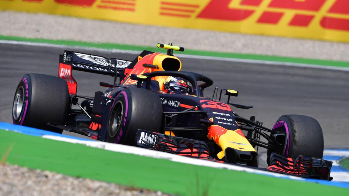 Verstappen vierde op Hockenheim, Hamilton profiteert van drama Vettel