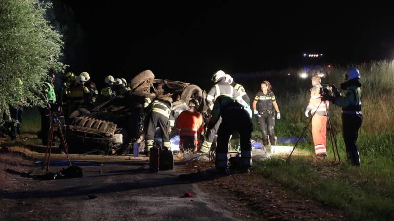 Dode bij ongeval op de A50.