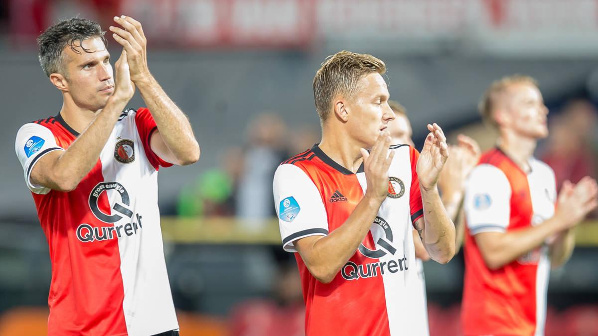 Feyenoord positief na Europese exit: 'Hier kunnen we mee verder'