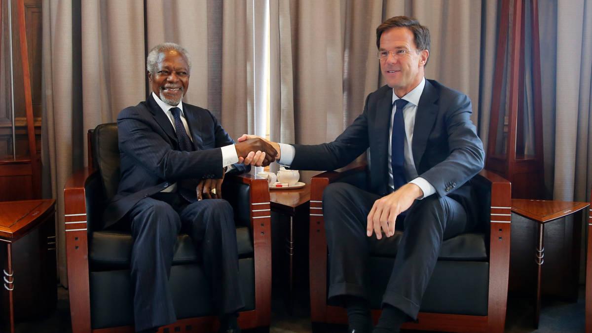 Kofi Annan 'probeerde altijd mensen bij elkaar te brengen'