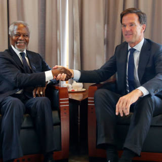 Bekijk details van Kofi Annan 'probeerde altijd mensen bij elkaar te brengen'