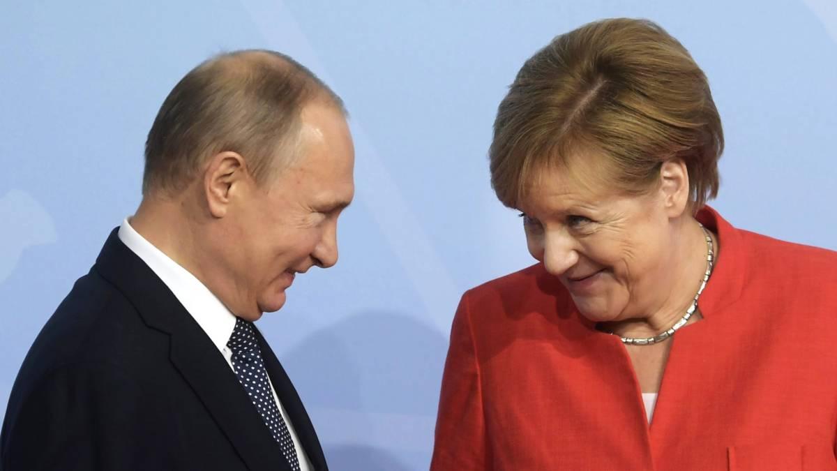 Merkel en Poetin weten: we hebben elkaar nodig