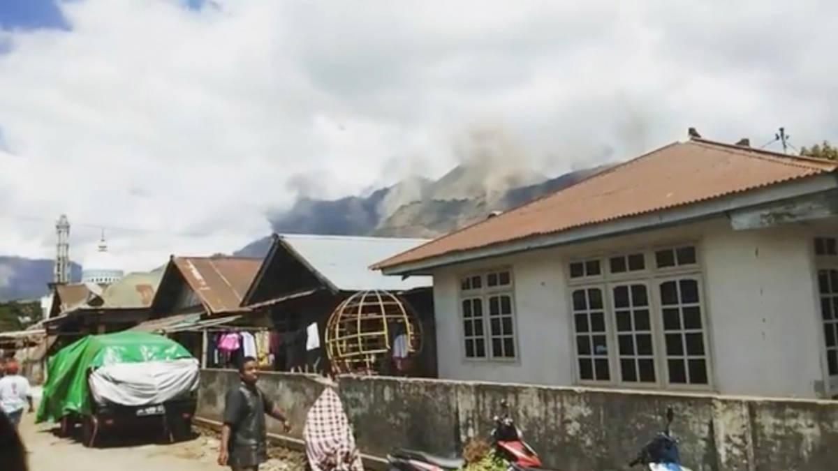 Lombok beeft voor de tweede keer vandaag