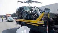 Nederlandse chauffeur lijkwagen verongelukt in Duitsland.