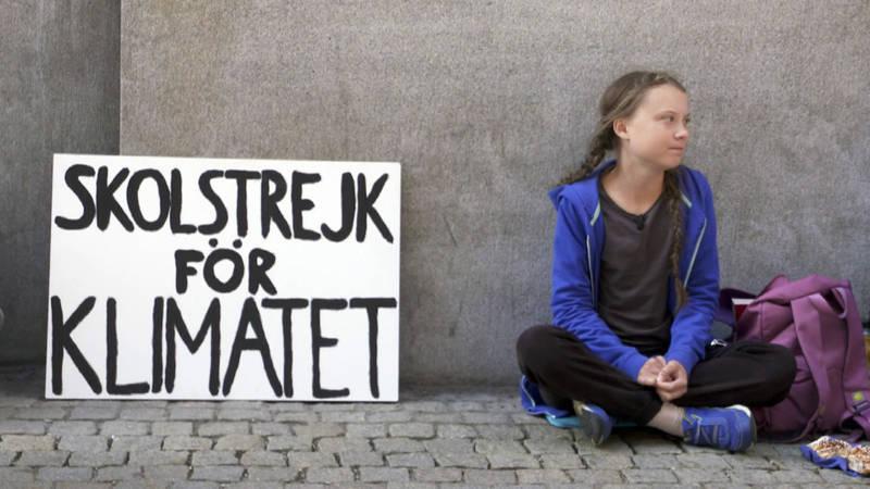Greta Thunberg, SVT photo