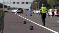 Zwaar ongeval op A12: twee ernstig gewonden na pech.