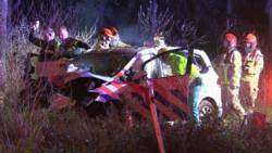 Agenten gewond bij auto-ongeluk Noord-Holland.