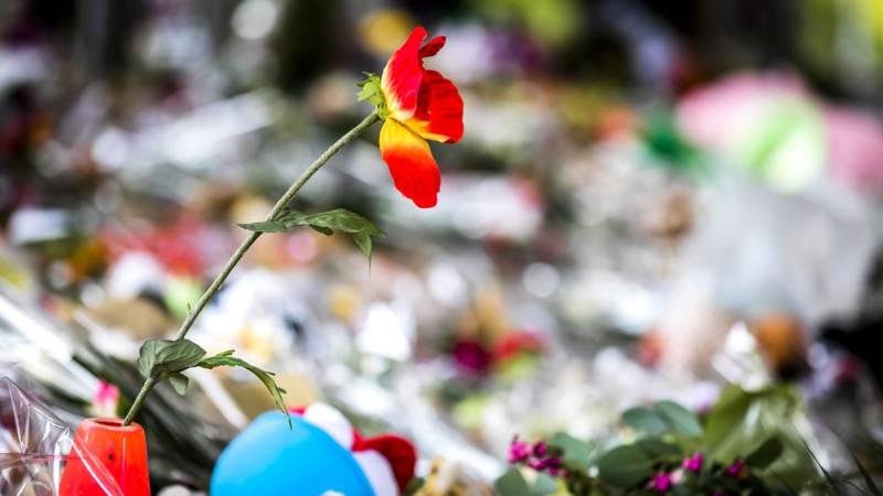 Herdenking voor slachtoffers van ongeluk in Oss.