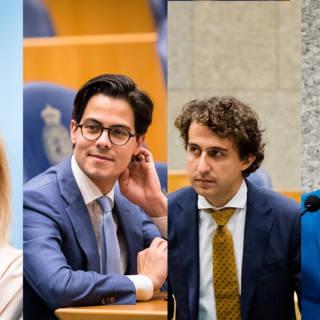 Niet eerder zo veel jonge fractievoorzitters in de Kamer