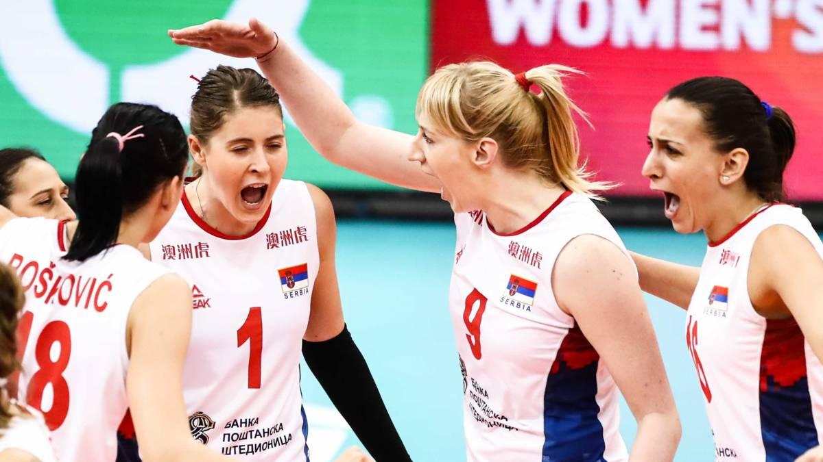 'Servische volleybalsters zijn de trots van de natie'