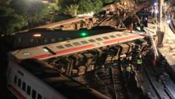 Treinongeluk in Taiwan kost 18 mensen het leven.