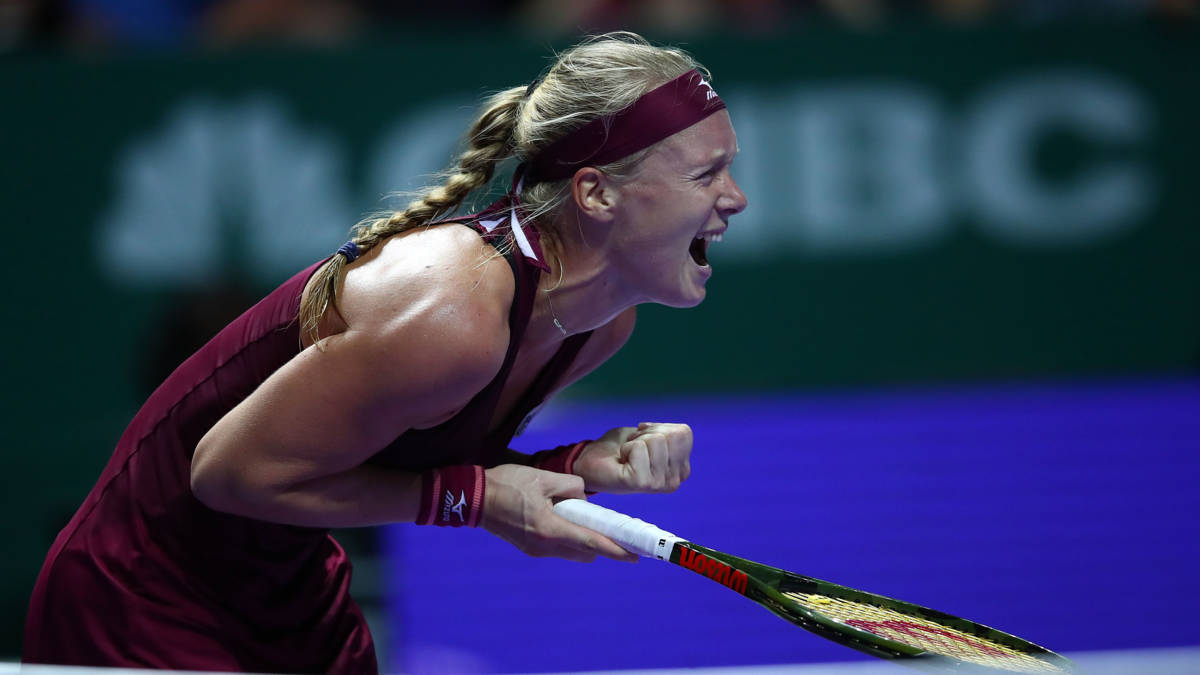 Bertens knokt zich naar knappe zege bij debuut WTA Finals