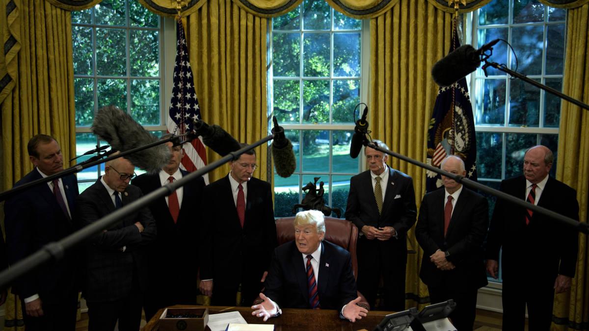 Trump over dood Khashoggi: 'Slechtste doofpotactie ooit', visa ingetrokken