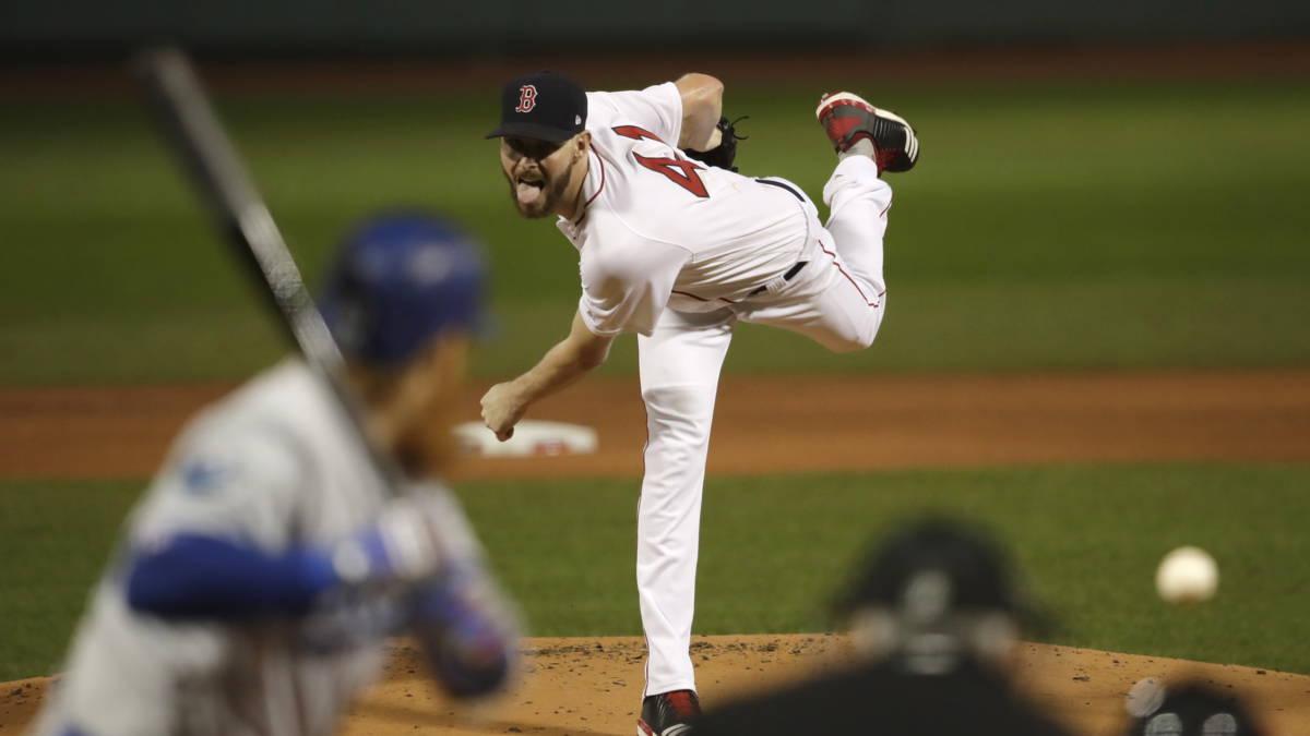 Winst Red Sox in eerste wedstrijd World Series