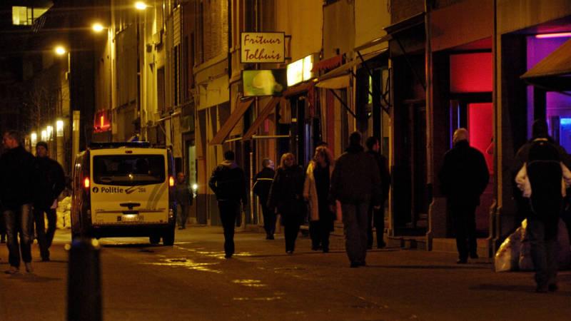 Het Schipperskwartier in Antwerpen, de enige wijk in de stad waar prostituees achter ramen staan
